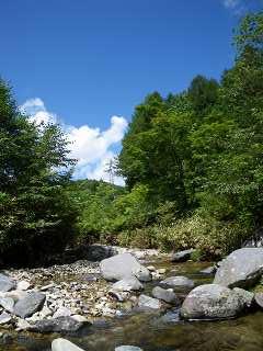 馬瀬川源流